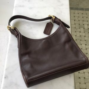 Vintage Coach purse, chocolate brown